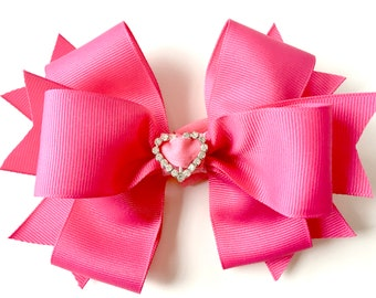 Removable Boutique Dog Bow for your own Large collar