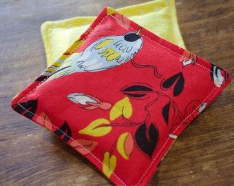 Brilliant Bird Vanilla Scented Flax Seed Hand Warmers