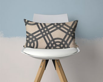 Linen Decorative Pillow, 14x10 inches