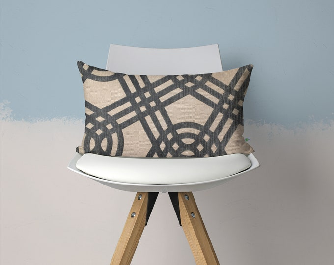 Featured listing image: Linen Decorative Pillow, 14x10 inches