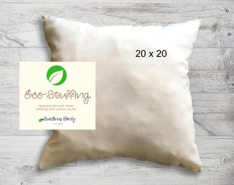Pillow Insert with Eco-Fill for 20 inch Decorative Pillows