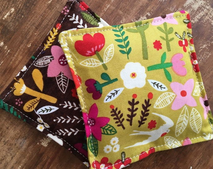 Featured listing image: Scandinavian Print Vanilla Scented Flax Seed Handwarmers