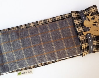 Charming Reindeer Aromatherapy Eye pillow or Cold Hot Pack