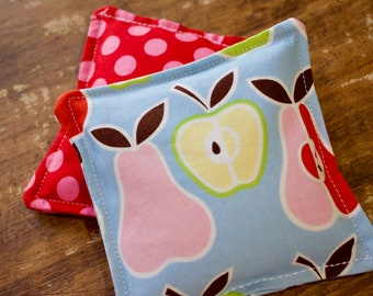 Fruity Dots Vanilla Scented Flax Seed Hand Warmers