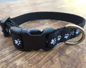 Dog Prints XS Dog Collar