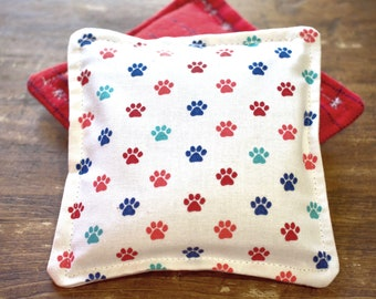 Paws & Stripes Vanilla Scented Flax Seed Hand Warmers