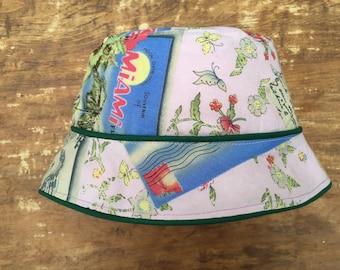 Pink Bucket Hat,  3 sizes, Bucket hat for kids, kids bucket hat, sunhat for girls, sunhat for baby girls, bucket hat for babies, pink sunhat