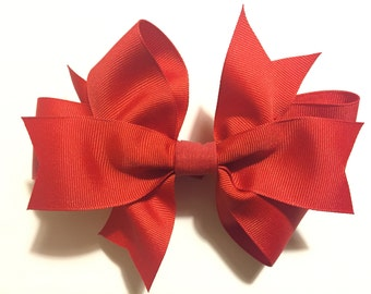 Dog Bow for Medium collars, Removable dog bow for your own 3/4 inch width dog collar, bows for dogs, dog bows, boutique dog bow