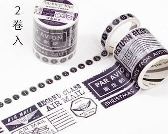 Air mail washi tape
