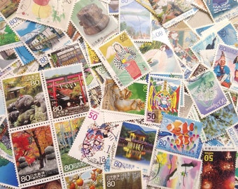 Items similar to Japan Stamps, Japan Postage Stamps, 6