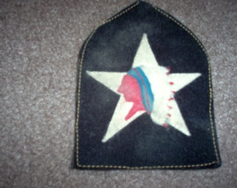 WWI Reproduction US Army Marine 2nd Infantry division patch