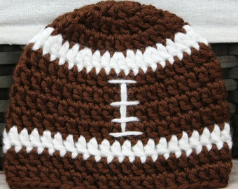 Football Diaper Cover and  Beanie or Flower Headband set