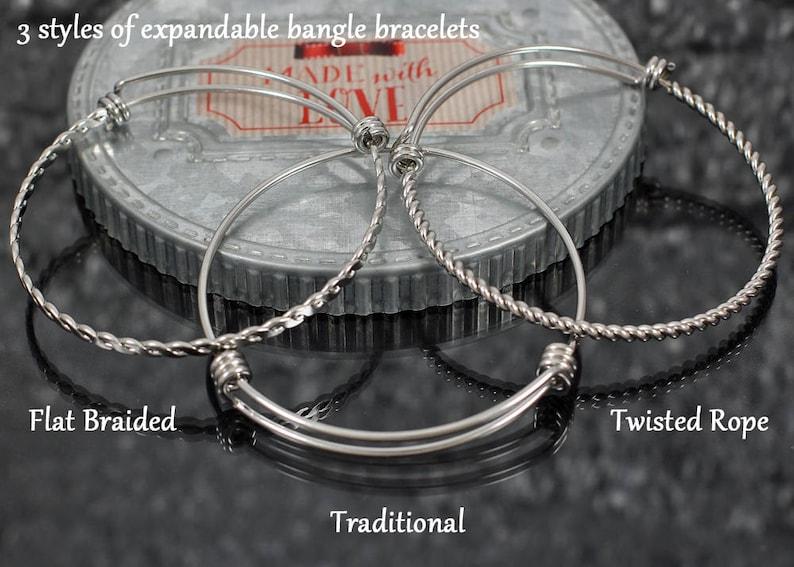 Elephant Bracelet personalized good luck jewelry gift elephant bangle bracelet with charms ganesha elephant charm bracelet for women