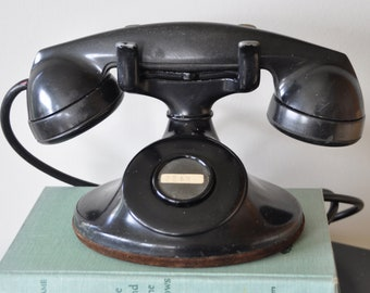 Great old Bakelite hotel telephone - vintage style for a shelf display!