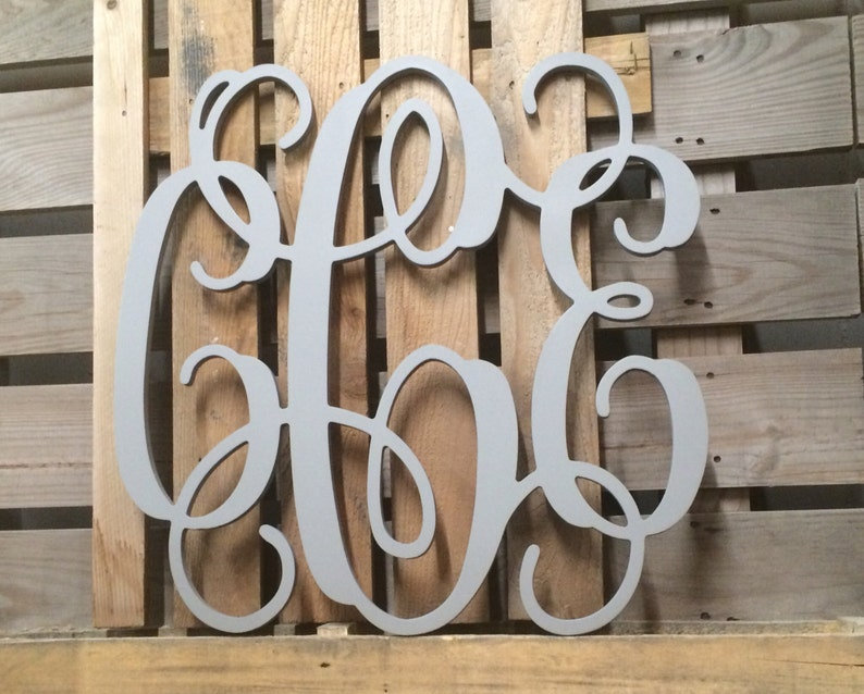 Wooden Monogram Personalized Dorm Room Decor 30 | Etsy
