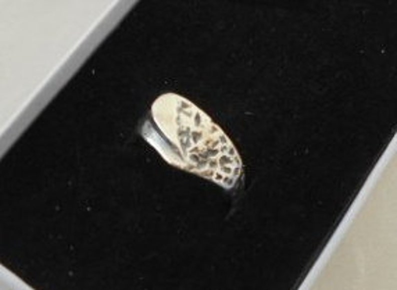 Silver Sterling Ring with Stamp 925 Vintage Silver Ring