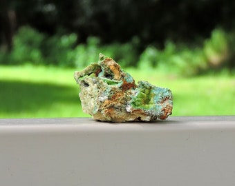 """Wavellite Variscite Mineral from Spain, 1.5"""" Inch 18 Grams"""