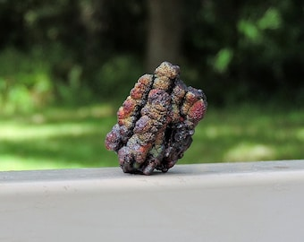 """Iridescent Goethite Mineral from Spain, .20"""" Inch 26 Grams"""