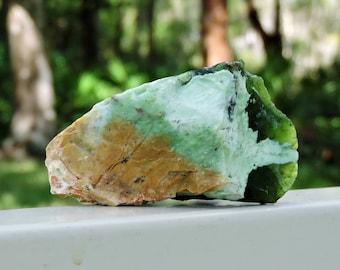"Chrome Chalcedony from Australia, 2.9"" Inch 80 Grams"