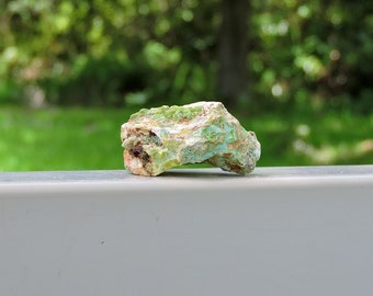 """Wavellite Variscite Mineral from Spain, 1.4"""" Inch 22 Grams"""
