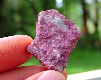 "Norwegian Pink Thulite stone from Norway, 1"" Inch 12 Grams"
