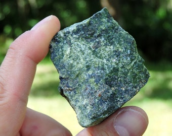 """Serpentine with Pyrite from Peru, 2"""" Inch 80 Grams"""