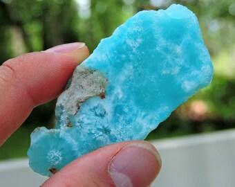 """Blue Aragonite from Afghanistan, 2.6"""" Inch 30 Grams"""