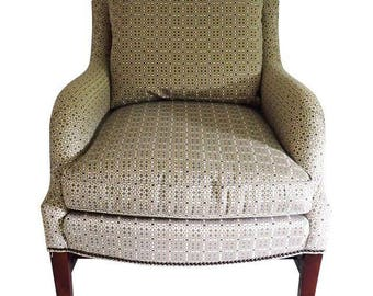 Estate Thomas Ou0027Brien Club Chair Made For Hickory Furniture