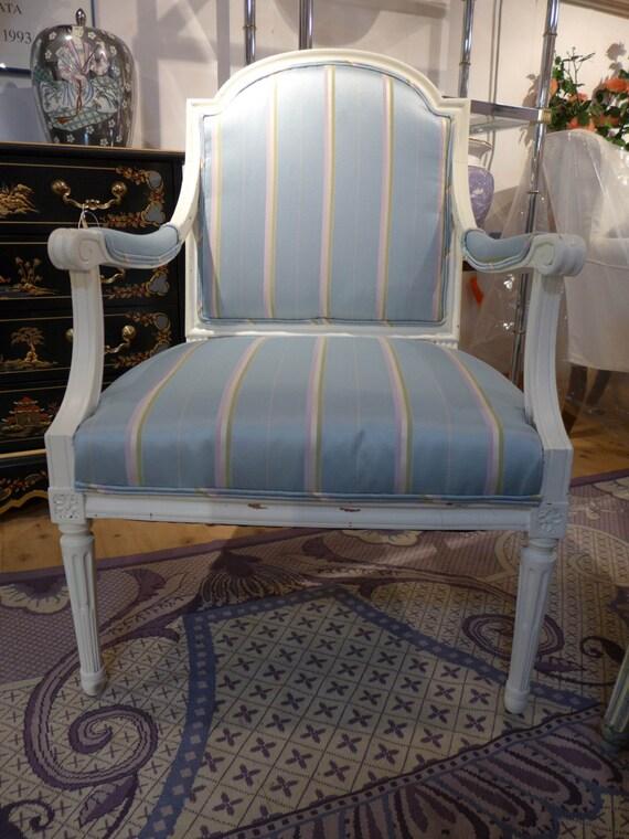Vente Anciens Francais Style Chaise Dappoint Nouveau Etsy