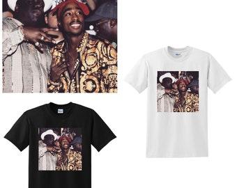 bd838ffe173c7 Tupac and Biggie T-shirt