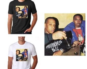 720b21d0c Jay-Z & Nas T-shirt