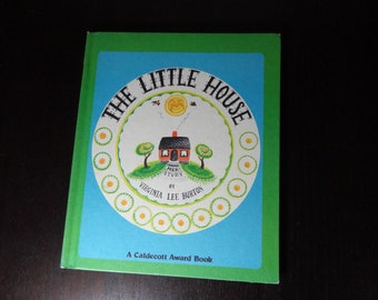"Vintage Children's Hardcover Book - ""The Little House"" by Virginia Lee Burton - Copyright 1969"