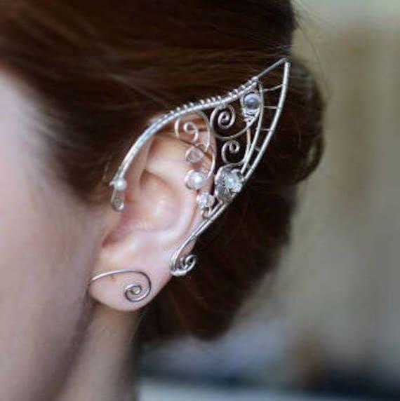 Elf ear cuffs Elf ear wraps Elven ear cuffs Earcuff Elf ears