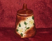 1940 39 s McCoy Pottery Butter Churn Cookie Jar