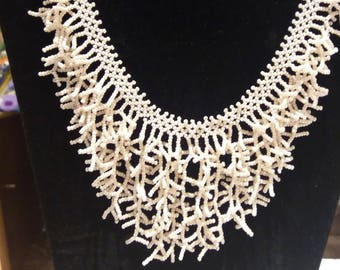 Beaded hand made necklace