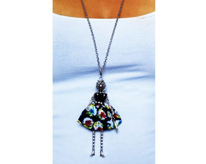 Doll pendant/key ring
