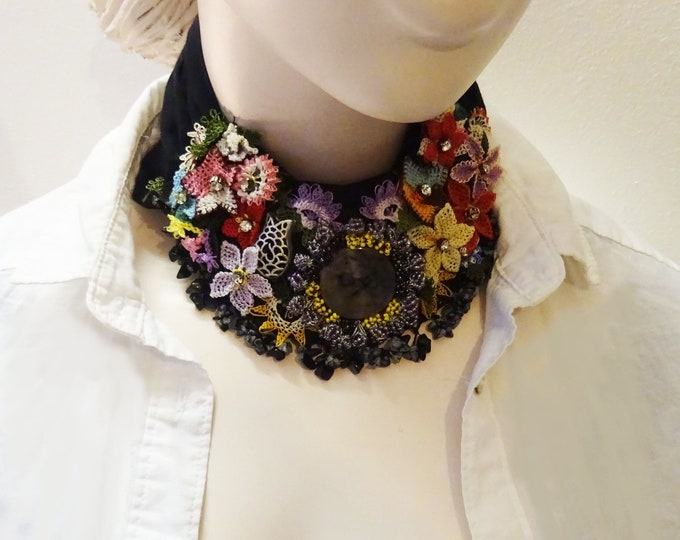 Floral Pure Cotton Scarf