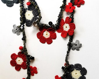 scarf/necklace