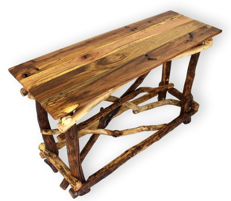 factory authentic 09db9 acacf Console Table / Rustic Entry Table / Wooden Entryway Table / Reclaimed Wood  Table / Upcycled Furniture
