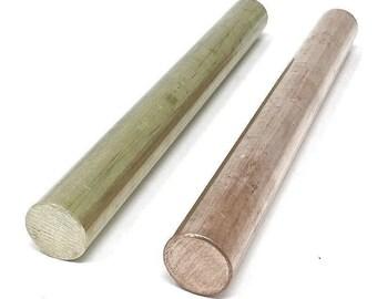 "Alloy 360 Round Bar 9//32/"" Free Machining Brass .28125 x 12/"" Brass Rod"