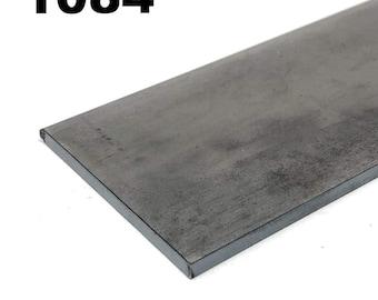 1084 High Carbon Blade Steel Flat Bar- Various Sizes
