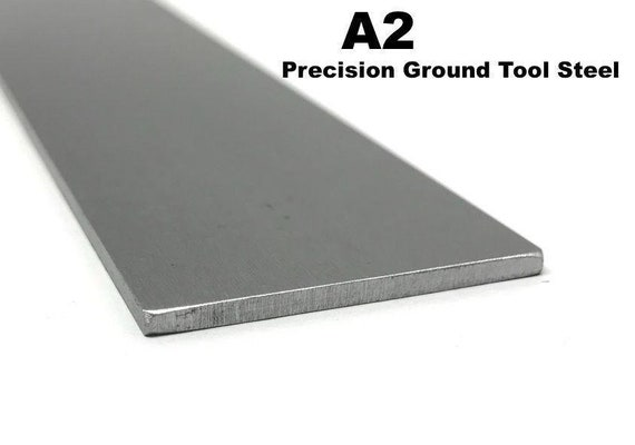 8 Width Annealed O1 Tool Steel Sheet Precision Ground 1//8 Thickness 18 Length