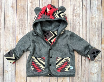 ae4b4715d Baby Boy Spring Fall Jacket Infant Cotton JacketBaby Cotton