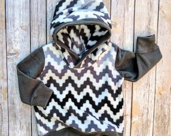 Baby Boy Fleece Hoodie, Infant Fleece Hoodie, Infant Boy Winter Clothes, Baby Boy Sweat Shirt, Infant Boy Gift