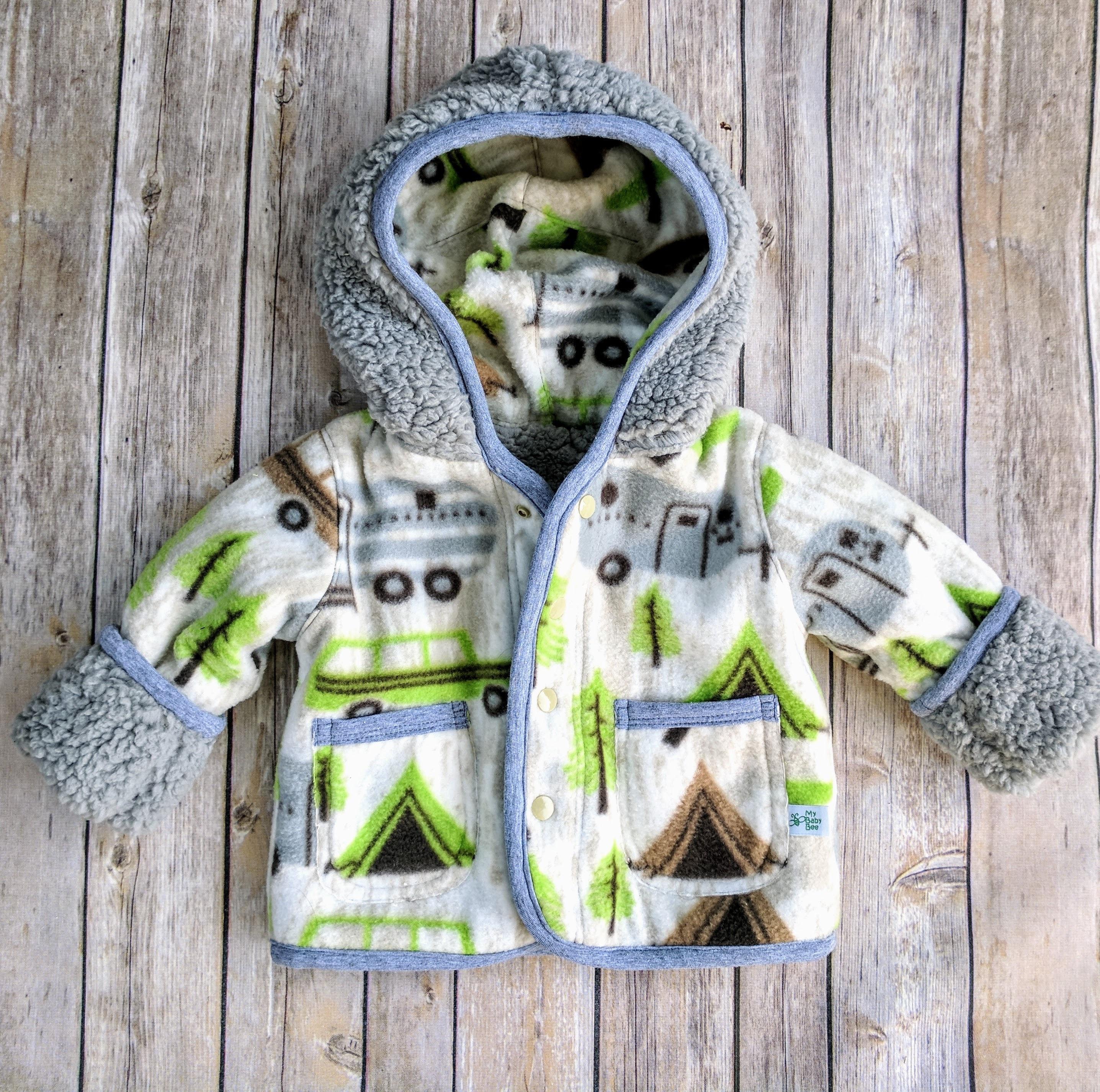 6e7561b49250 Infant Boy Fleece CoatBaby Boy Winter Jacket Baby Boy Winter
