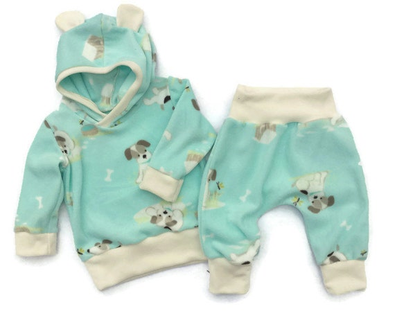 7b01d8519 Baby Boy Hoodie Set Infant Boy Clothes Baby Boy Fleece