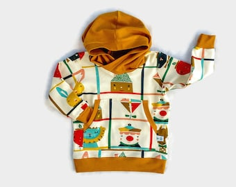 ORGANIC Cotton Hoodie,Baby Organic Clothes,Unisex Baby Clothes, Baby Gift