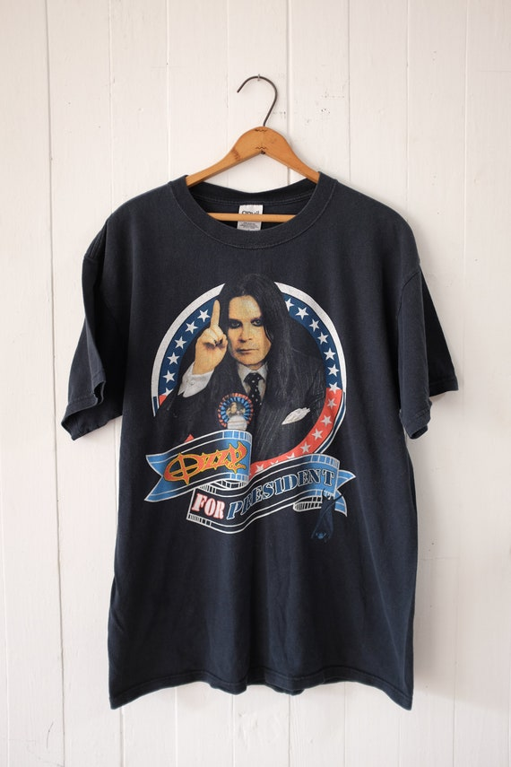 Ozzy for President t-shirt - Ozzfest 2004 // vinta