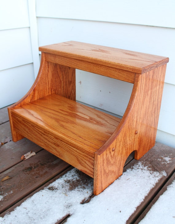 Incredible Kitchen Step Stool Wood Step Stool Adult Step Stool Onthecornerstone Fun Painted Chair Ideas Images Onthecornerstoneorg