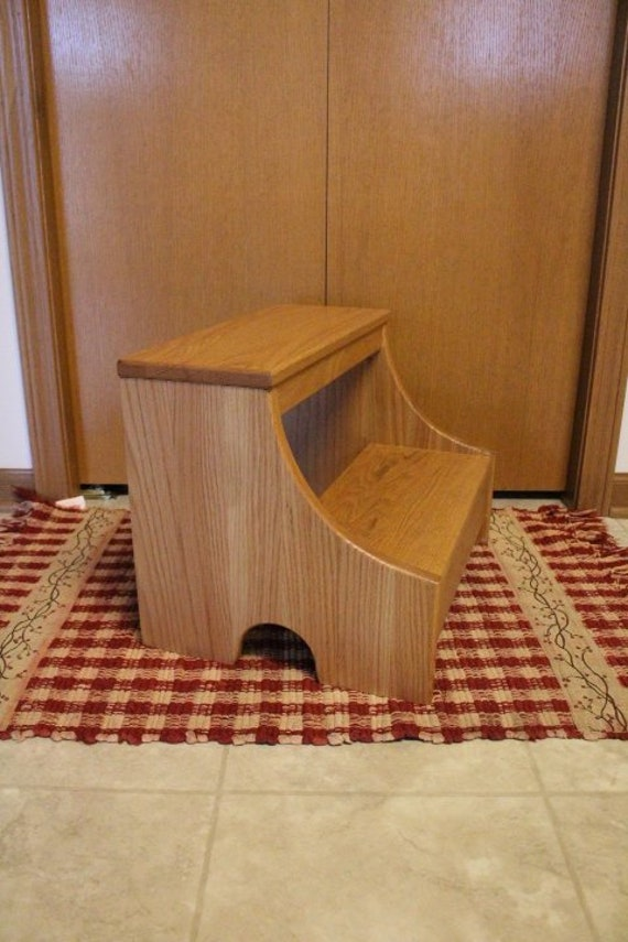 Wooden Step Stool Bedside: Step Stool Heavy Duty Stool Wood Step Stool Solid Wood